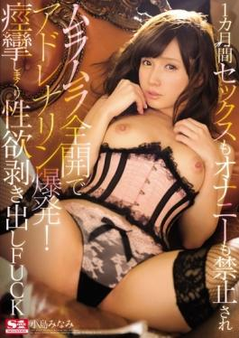 SNIS-541 studio S1 NO.1 STYLE - 1 Month Sex Also Masturbation Also Is Prohibited Adrenaline Explosio