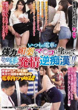 YRMN-061 - Powerful Aphrodisiac Painted On The Usual Train On The Train And The Estrus Reverse Mortal! ! - Yariman Densetsu