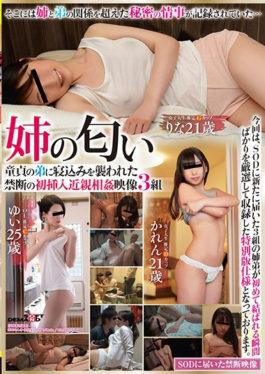 SDMU-694 - Older Smile Of Older Sister Goodwill Goodwill 21 Years Old,Rina 21 Years Old,Yu 25 Years Old First Time Insertion Of Forbidden Assault Attacked By A Younger Brother Of Virginity Incomplete Incest Images 3 Pairs - SOD Create