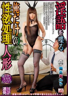 AVSA-052 I Only Talk Of An Idiot I Am A Libido Processing Doll Maijima Akari