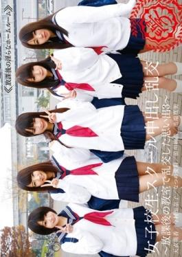 T28-448 - School Girls Out In The School Memories Were Exchanged Turbulent In Orgy-after-school Classroom 3 To - Tma