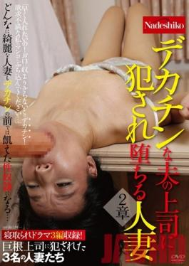NASS-200 Studio Nadeshiko A Married Woman Falls From Grace After Being Raped By Her Husband's Well-Endowed Boss Chapter 2